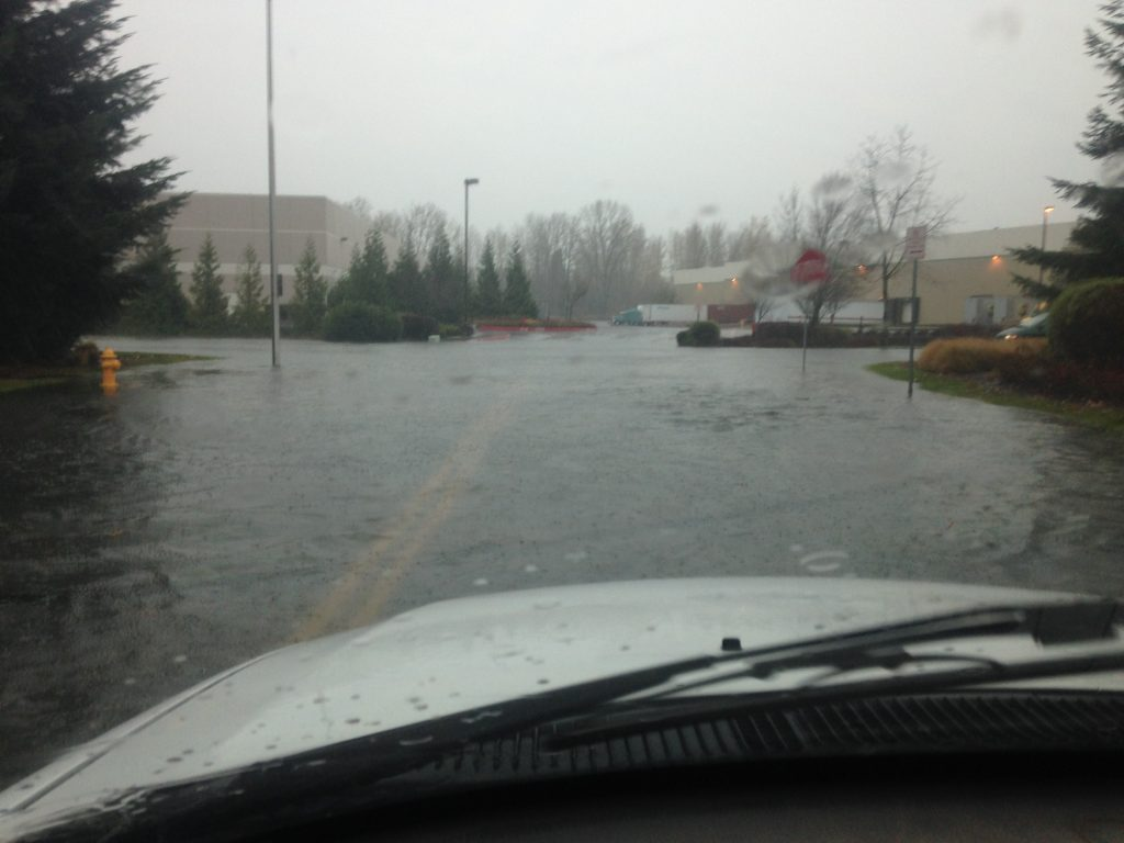 South Shore Flooding During Storm in 2015