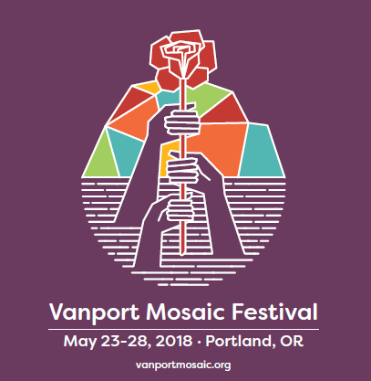 Vanport Mosaic Festival Flyer for 2018