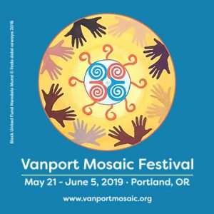 Event flyer for the 2019 Vanport Mosaic Festival