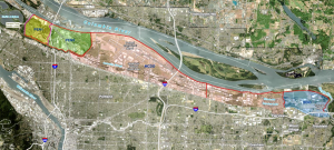 US Army Corps of Engineers Feasibility Study Area